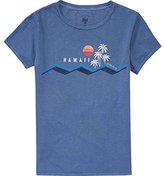 Billabong Junior's Hawaii Waves Boyfriend T-Shirt