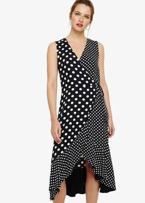 Phase Eight Bea Spot Wrap Dress