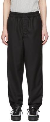 Comme des Garçons Shirt Black Workstitch Trousers