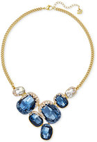 Swarovski Gold-Tone Multi-Crystal Collar Necklace