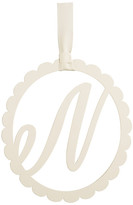 Mud Pie Scalloped Initial Wall Hanger - N