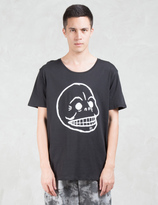 Cheap Monday Scoop Skull T-Shirt