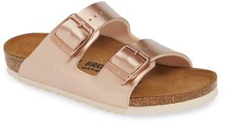 Birkenstock Arizona Metallic Slide Sandal
