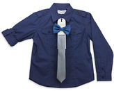 Sovereign Code Boys 2-7 Woven Dress Shirt with Bow Tie and Tie Set