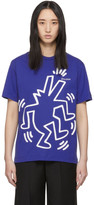 Études Blue Keith Haring Edition Wonder T-Shirt