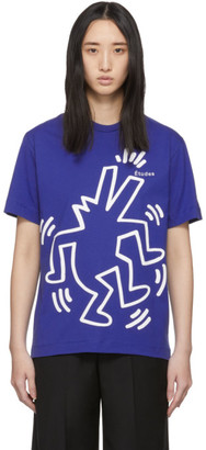 Études Blue Keith Haring Edition Wonder T-Shirt