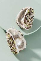 Anthropologie Oyster Drop Earrings