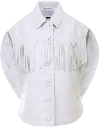 MM6 MAISON MARGIELA Fringed Jacket