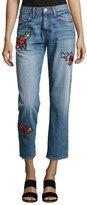 Joie Josie Patched Denim Jeans
