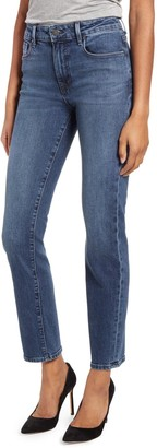 Fidelity Cher High Rise Slim Straight Jeans