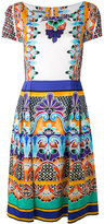 Alberta Ferretti printed dress - women - Cotton/other fibers - 40