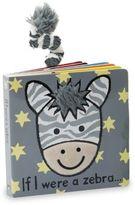 Jellycat Kid's If I Were A Zebra Book