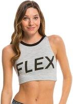 MinkPink Move Women's Flex Crop Sports Bra 8137050
