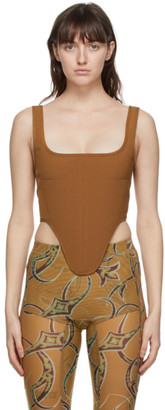 Charlotte Knowles Brown Bone Corset