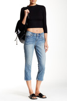 Seven7 Roll Cuff Cropped Jean