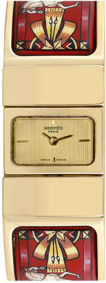 Hermes Heritage  1990S Women's Loquet Bangle Watch