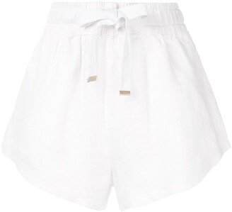 Venroy High-Waisted Drawstring Shorts
