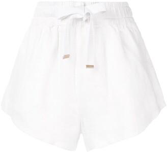 Venroy High-Waisted Drawstring Shorts