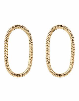 Fernando Jorge Single Chain Short Earrings