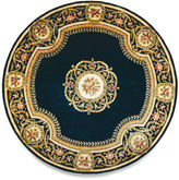 Momeni Atlantis Hand-Carved Wool Round Rug