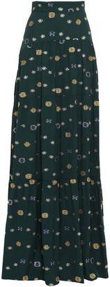 Peter Pilotto Fil Coupe Maxi Skirt