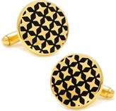 Cufflinks Inc. Men's Gold Star Crossed Cufflinks