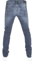 Calvin Klein Slim Straight Jeans Blue