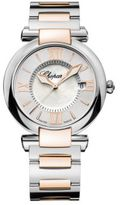 Chopard Imperiale Mother-Of-Pearl, 18K Rose Gold & Stainless Steel Bracelet Watch