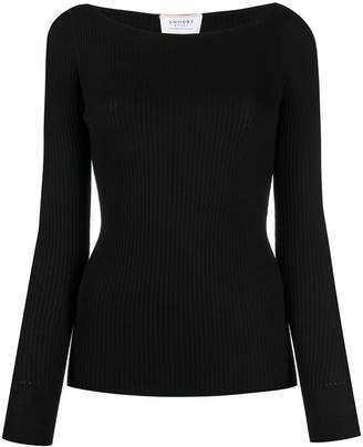 Snobby Sheep boat-neck knit sweater