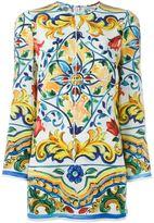 Dolce & Gabbana Majolica print tunic top