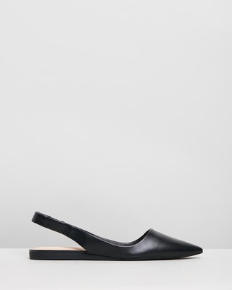 Verali - Women's Black Ballet Flats - Pippa - Size One Size, 36 at The Iconic