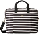 Kate Spade Stripe Nylon Laptop Bag Laptop Case Computer Bags