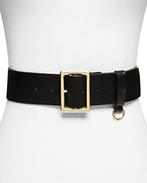 Frame D-Ring Leather Belt