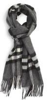 Burberry Men's 'Giant Icon' Cashmere Scarf