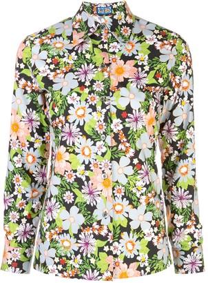 Lhd Star Island floral print shirt