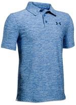 Under Armour Boys' Slubbed Tech Polo Shirt - Big Kid