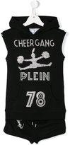 Philipp Plein Cheergang sleeveless tracksuit set