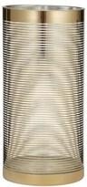 Amalfi by Rangoni Blitz Candle Holder 15 x 30cm Gold