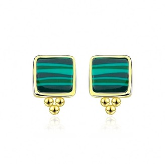 Daixa Somed Heliconias Gold Earrings