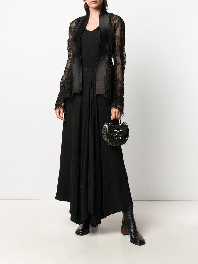 Thumbnail for your product : Marc Le Bihan Sheer Lace Cardigan