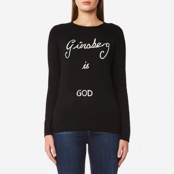 Bella Freud Women's Ginsberg is God Jumper Black