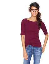 J.Crew Perfect-fit boatneck tee