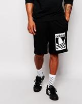 Adidas Originals Graphics Sweat Shorts Ab8043 - Black