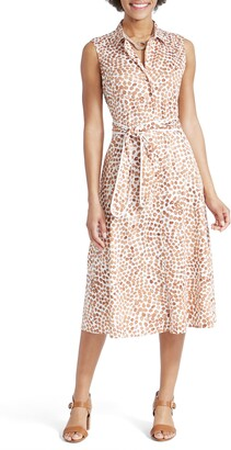 Nic+Zoe Copper Kiss Midi Shirtdress
