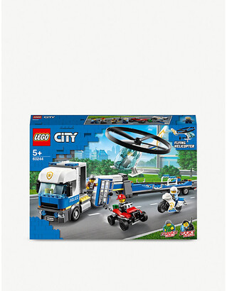 Lego City Police Helicopter Transport set