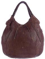 Henry Beguelin Distressed Leather Shoulder Bag