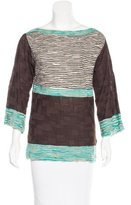 M Missoni Wool-Blend Knit Top
