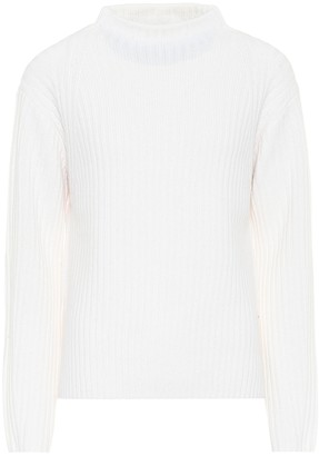 Vince High-neck wool-blend sweater