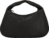 Bottega Veneta Women's Intrecciato Large Hobo-Black