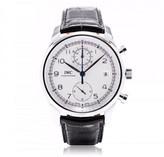 IWC Portuguese Chronograph Classic 390403 Silver 42mm Watch